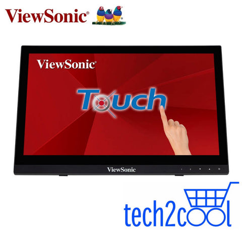 ViewSonic TD1630-3 16-In 10-Point Projective Capacitive Touch Screen Monitor
