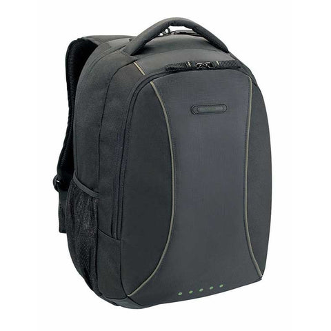 Targus 15.6-In Incognito Black/Olive Laptop Backpack