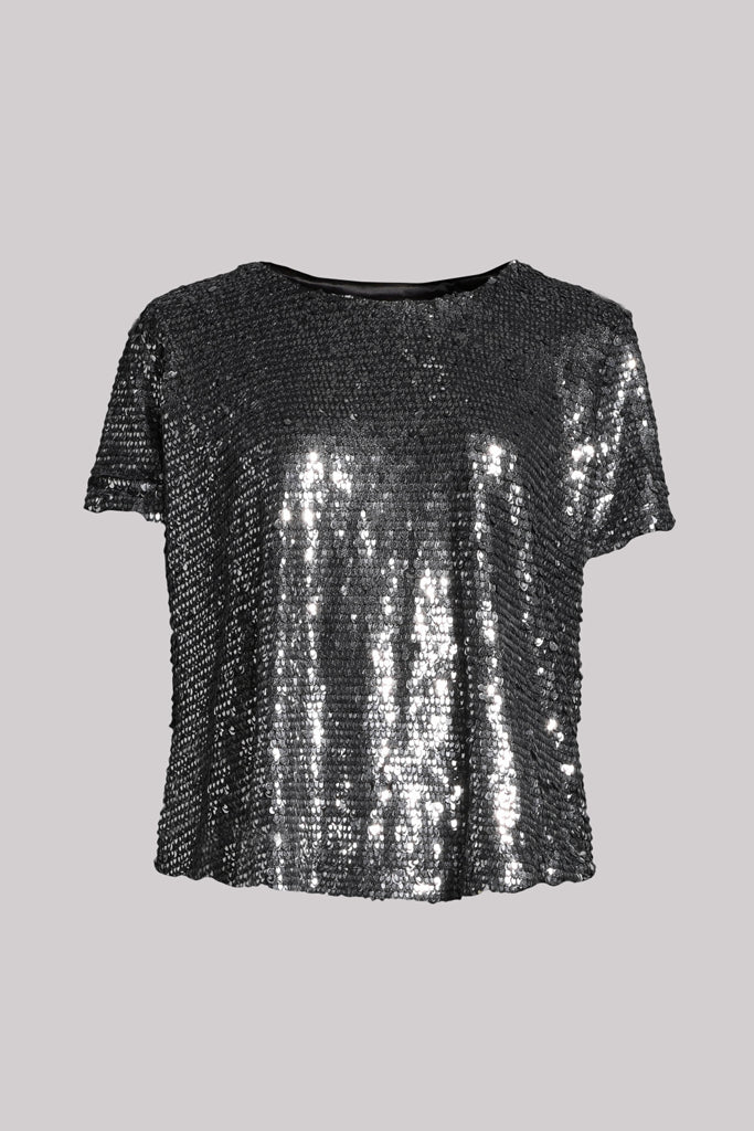 Courcelles Sequins Top