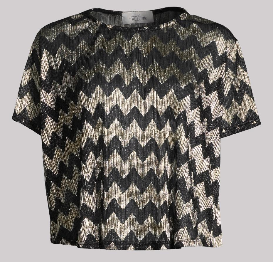 Courcelles Herringbone Top