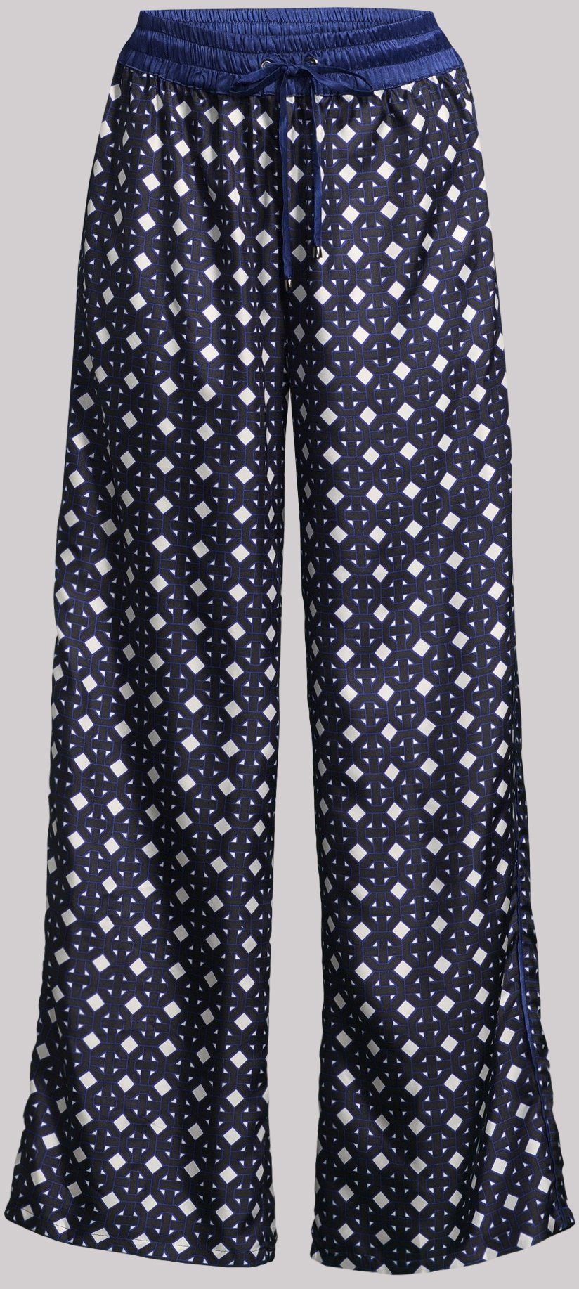 Doillon Blue Silk Pant