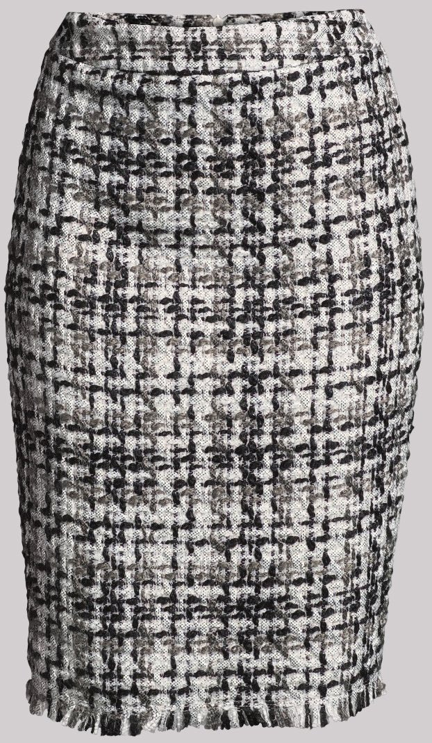 Hyatt Cotton Tweed Skirt