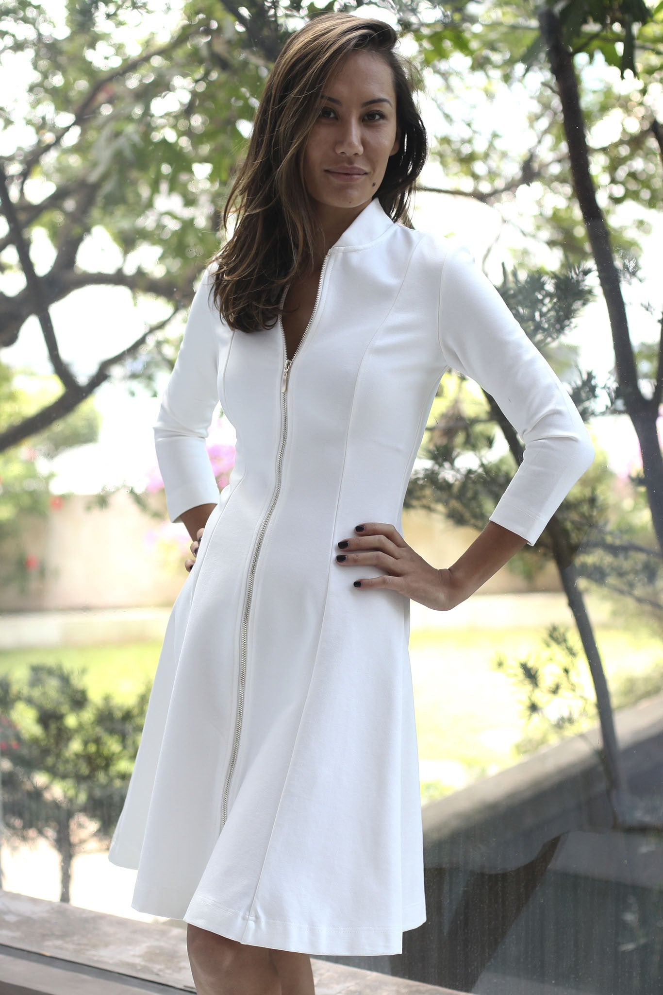 BOETIE DRESS - WHITE