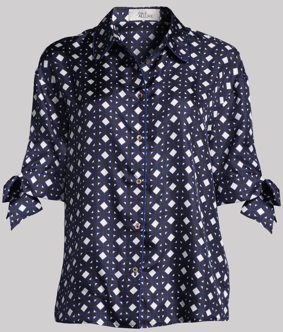 Trocadero Blue Shirt