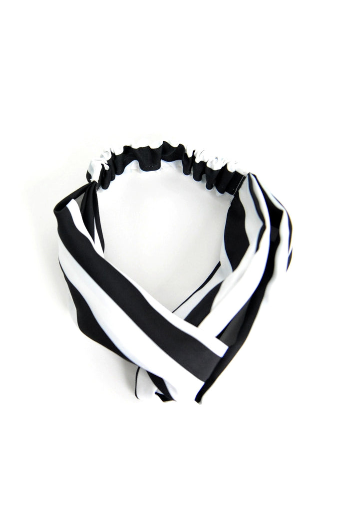 Striped Twisted Retro Headband
