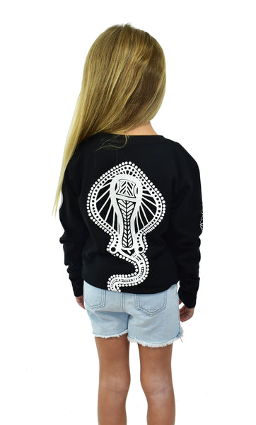 Girls Black Stingray Longsleeve