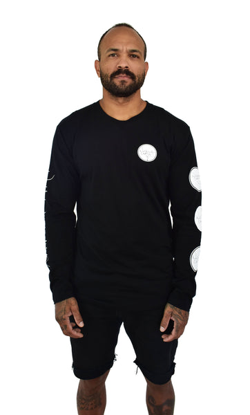 Mens Black Turtle Longsleeve