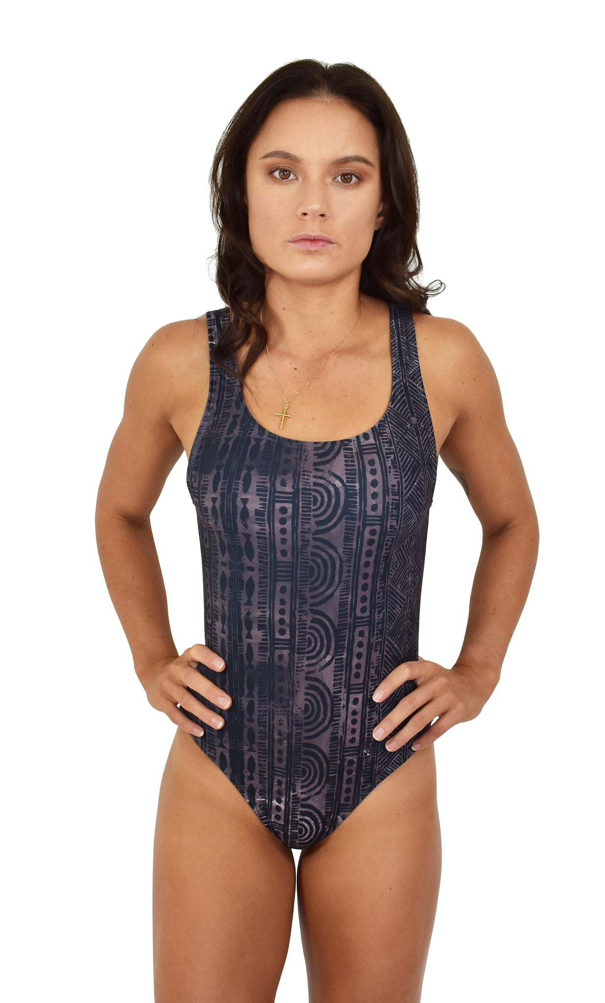Womens Summer Grey One Piece