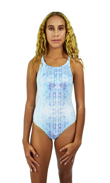 Girls Summer Blue One Piece