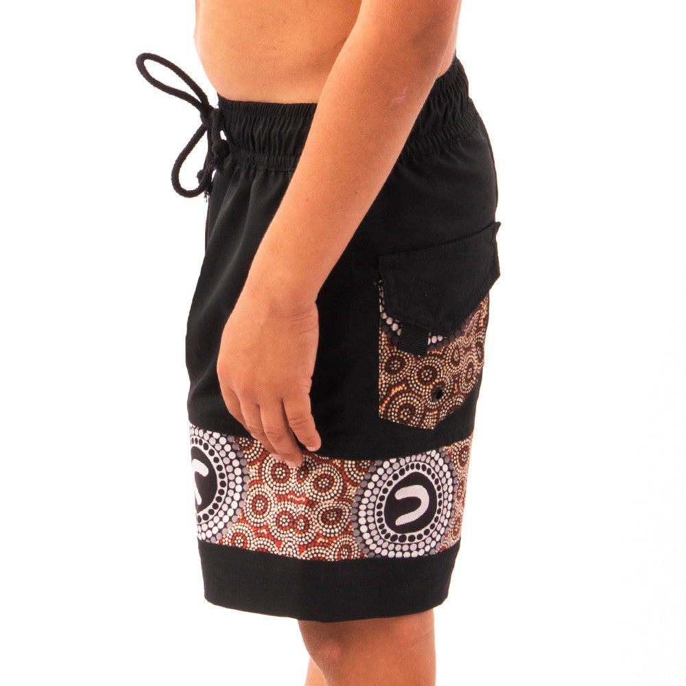 Boys The Clan Groups Boardshorts
