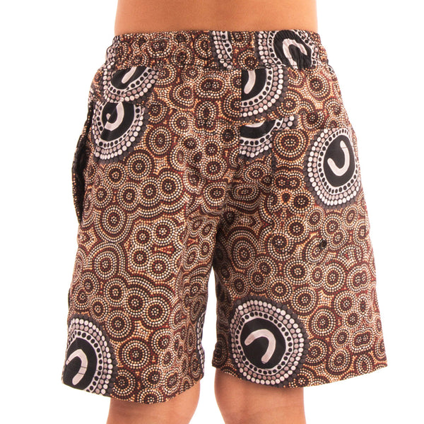 Boys The Clan Groups Casual Shorts