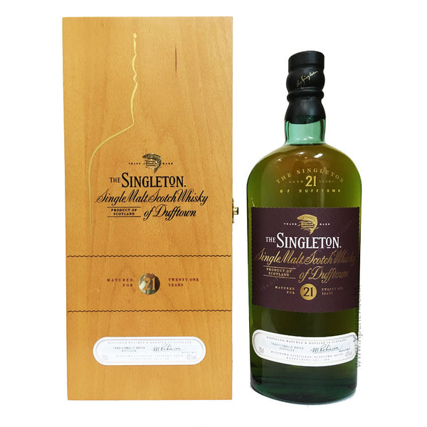 Singleton 21 Years Single Malt -