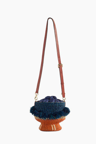Baw Pot Ruffle Bucket Bag