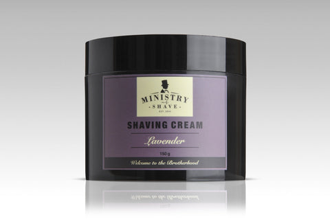 Ministry of Shave Lavender Shaving Cream- 150gm