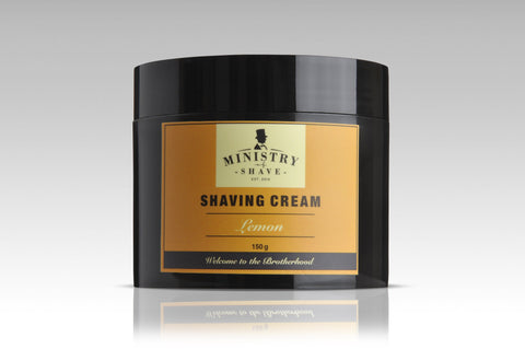 Ministry of Shave Lemon Shaving Cream- 150gm