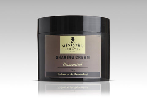 Ministry of Shave Unscented Shaving Cream- 150gm