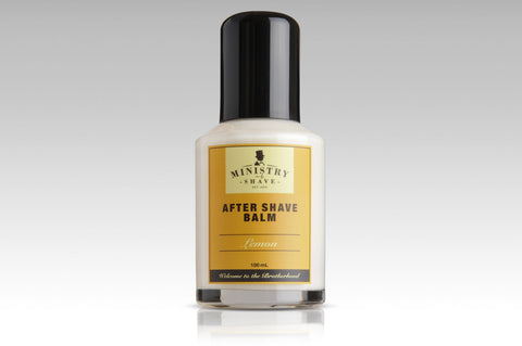 Ministry of Shave Lemon After Shave Balm- 100ml