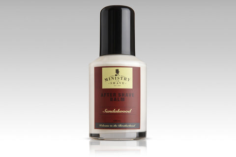 Ministry of Shave Sandalwood After Shave Balm- 100ml