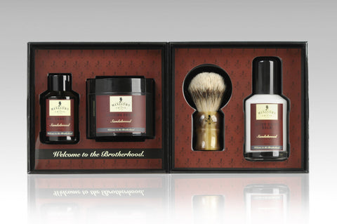 Ministry of Shave Sandalwood Shaving Collection
