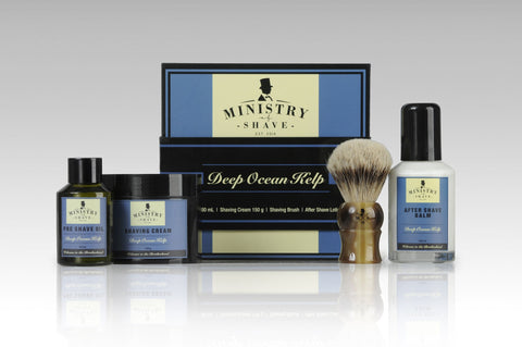 Ministry of Shave Deep Ocean Kelp Shaving Collection