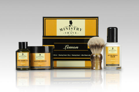 Ministry of Shave Lemon Shaving Collection