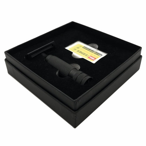 Matte Black Ottoman Deluxe Double Edge Razor Kit