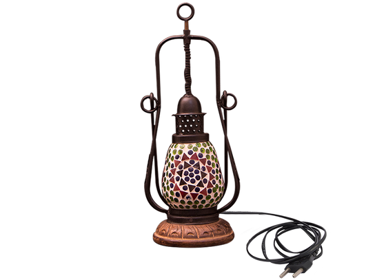 Mosaic Glass Hanging  Lantern