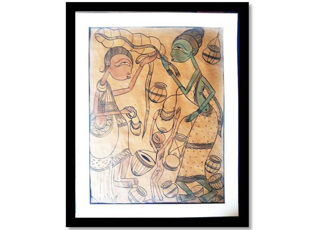 Bengal art on Paper for Wall décor
