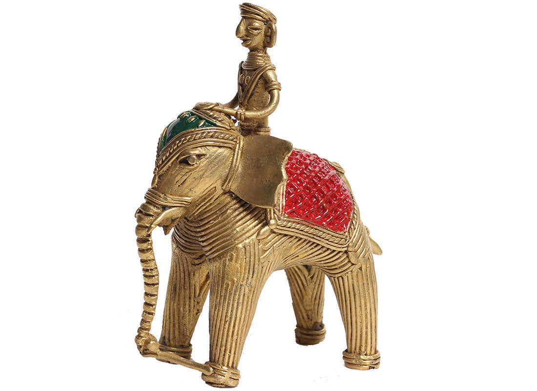 Elephant Dhokra Showpiece