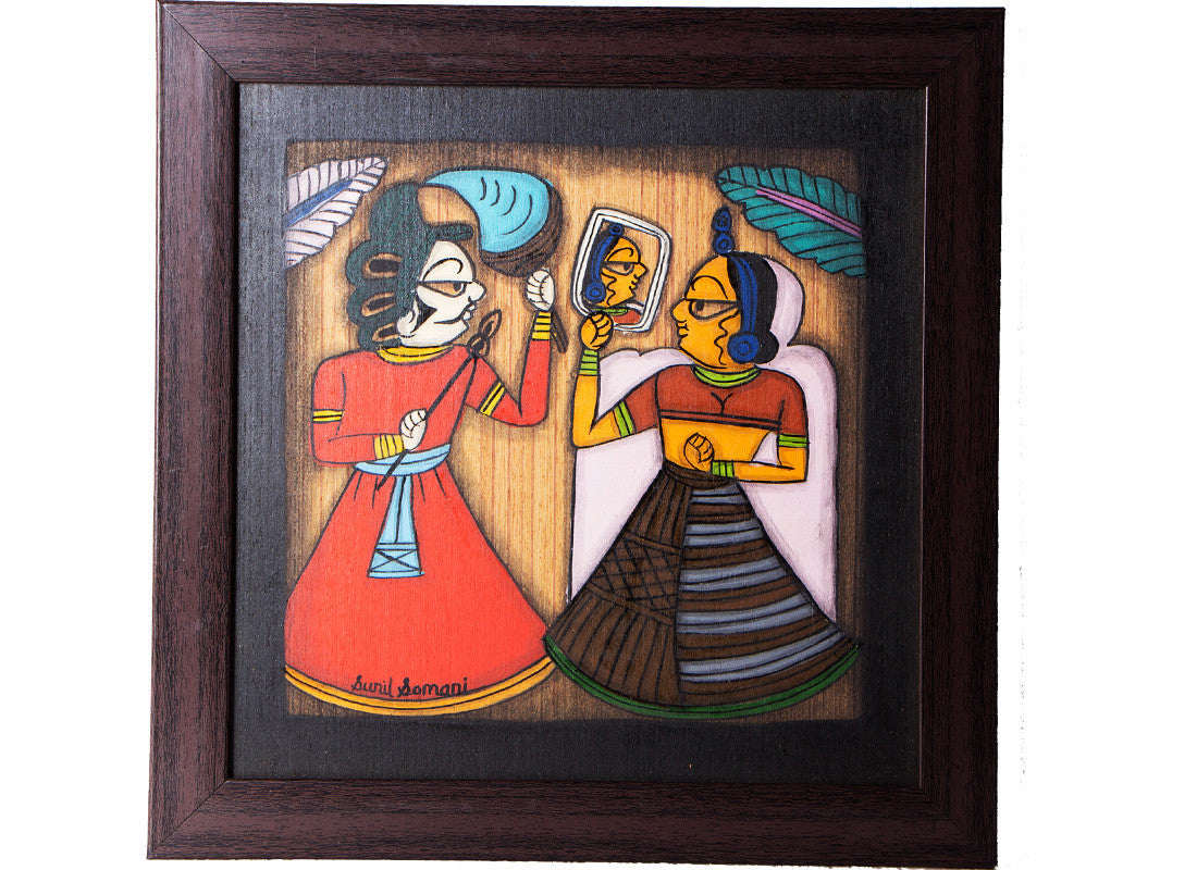 Antique Phad canvas painting art