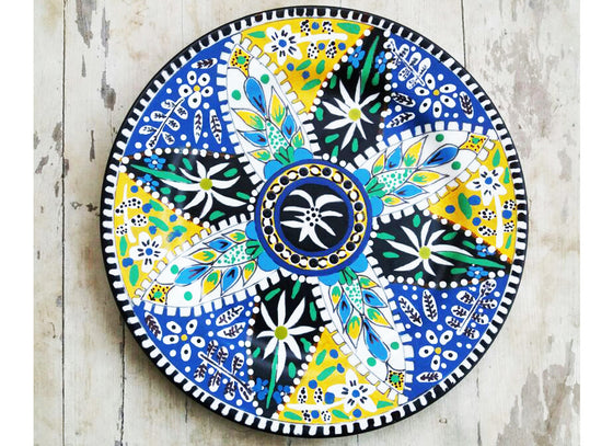 Attractive multicolor designer wall plate