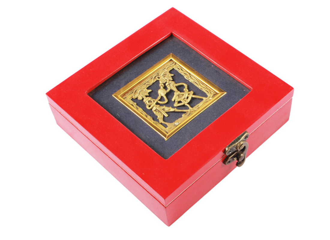 Handcrafted Red Box