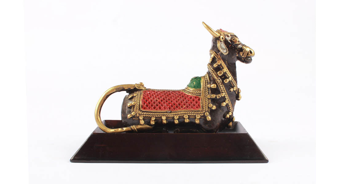 Dhokra Art Nandi Sitting