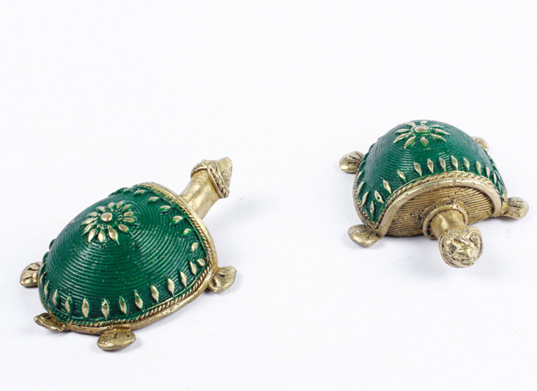 Tortoise Table Top Set- Green