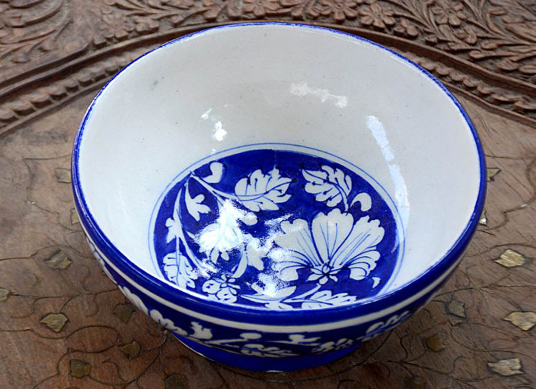 Ethnic Design Fruit Serving Bowl