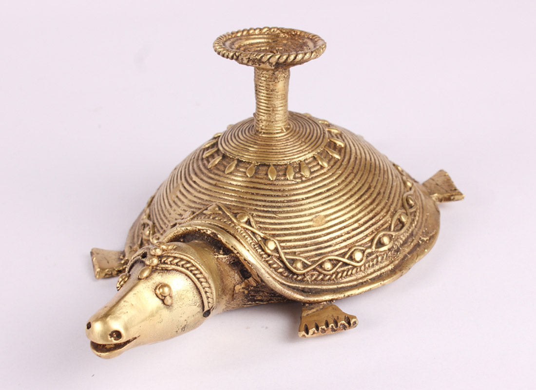 Tortoise Shaped Candle Stand