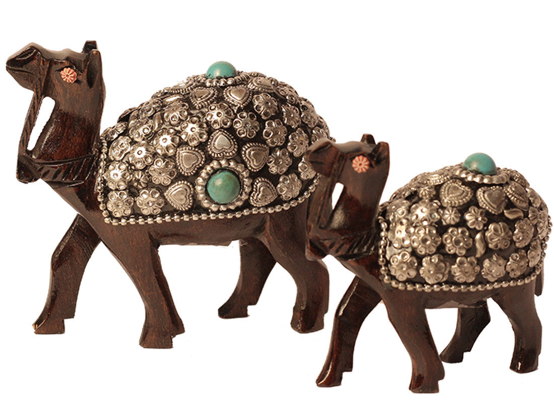 Beads Art Wooden Camel