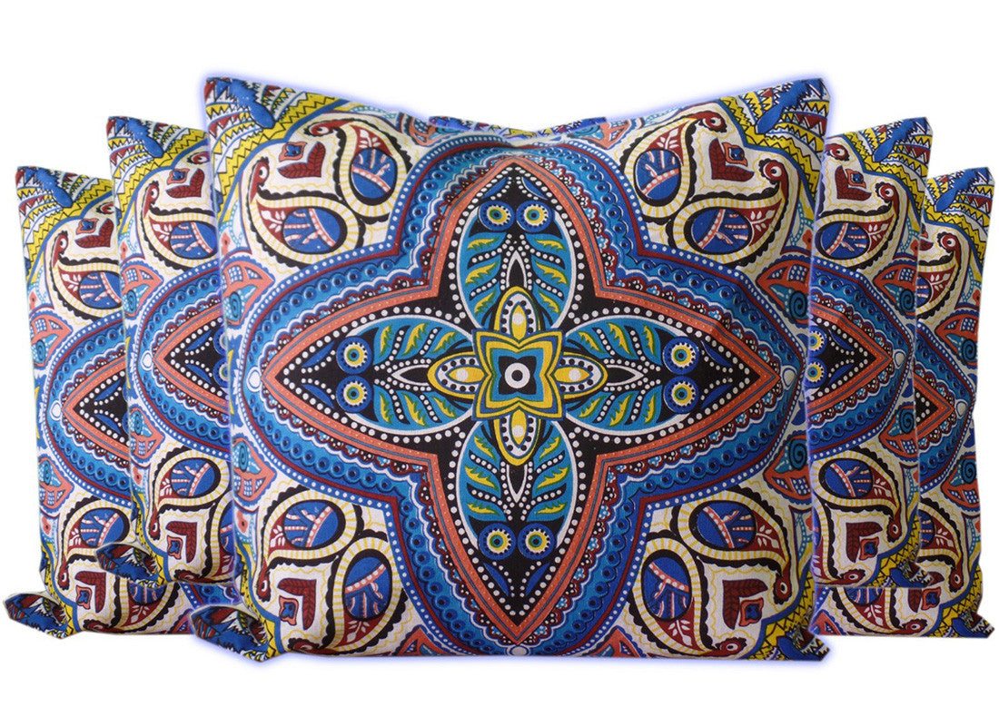 designed cotton cushion cover
