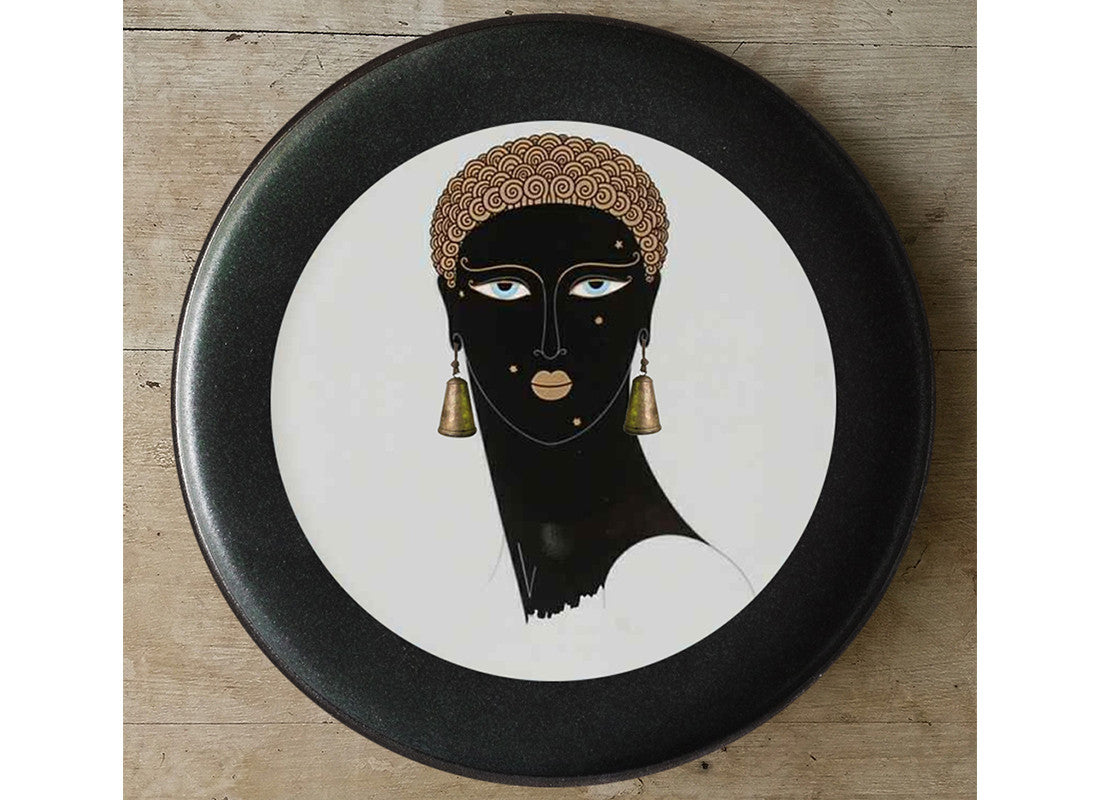 Black beauty French style wall plate i
