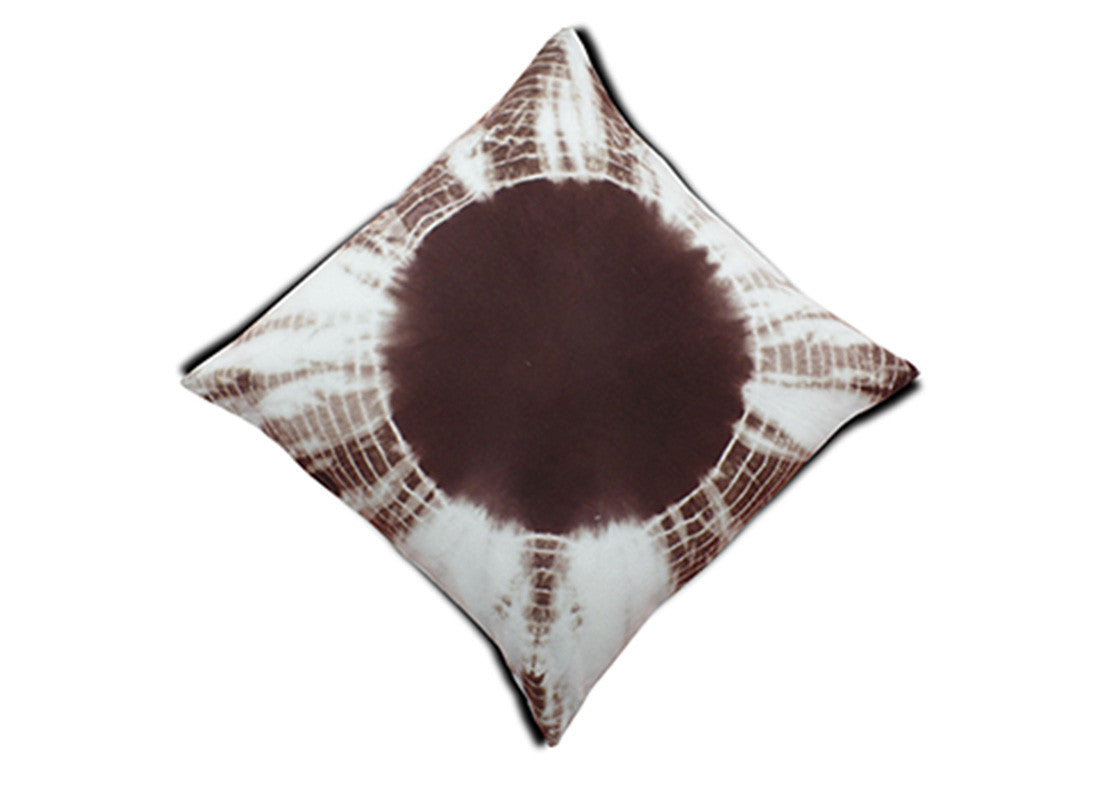 Brown Patterned Cushion Covers