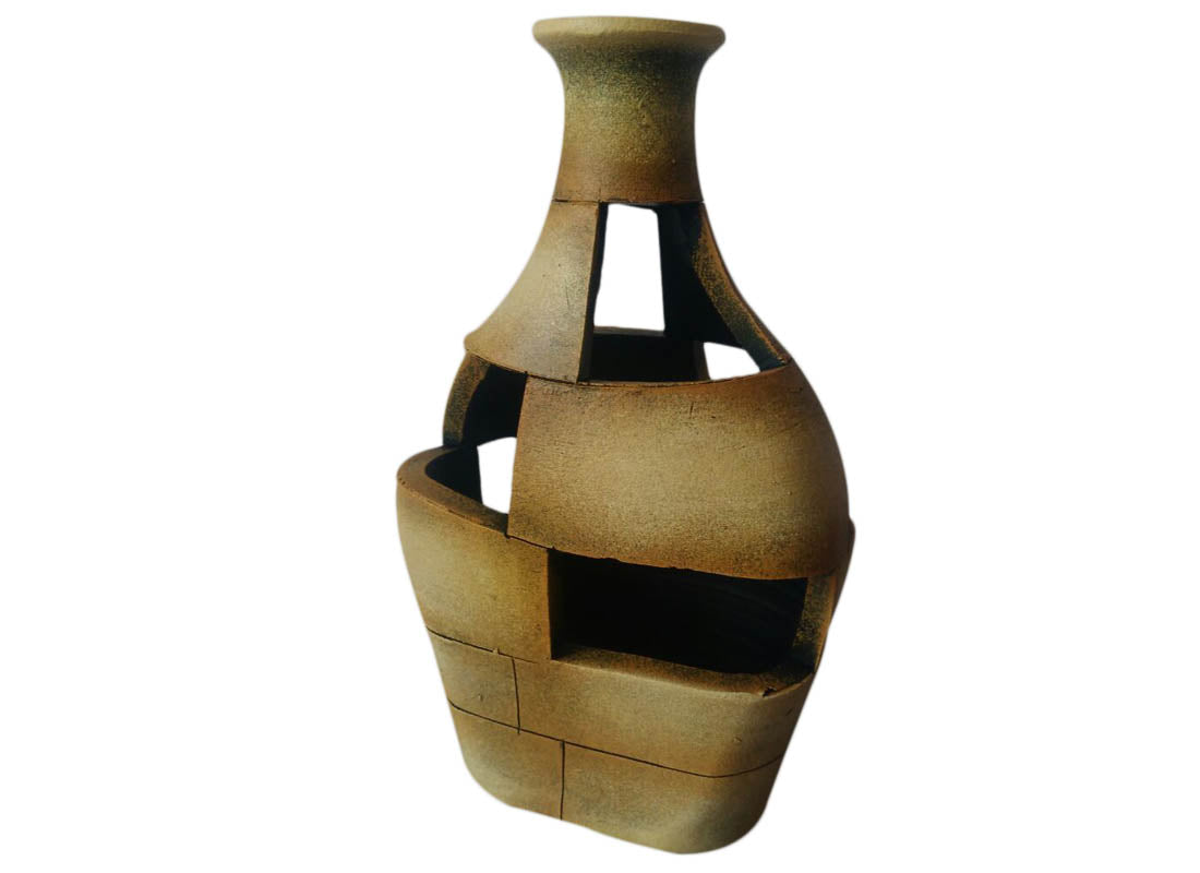 Terracotta Vase Showpiece Set