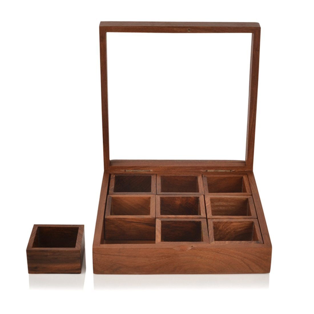 Wooden Spice Container Box