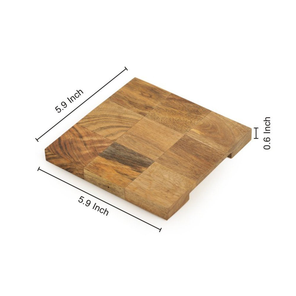 Wooden Trivet Set of 2