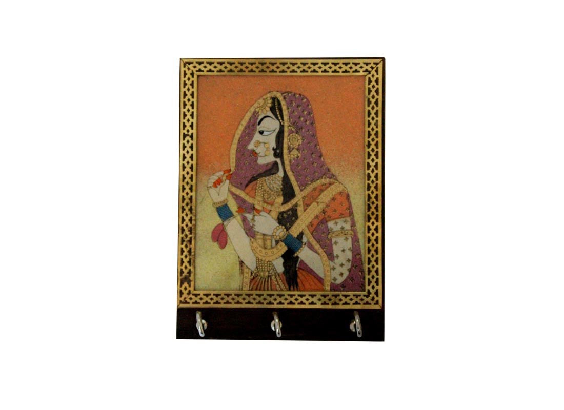 Rajasthani Art Key Holder