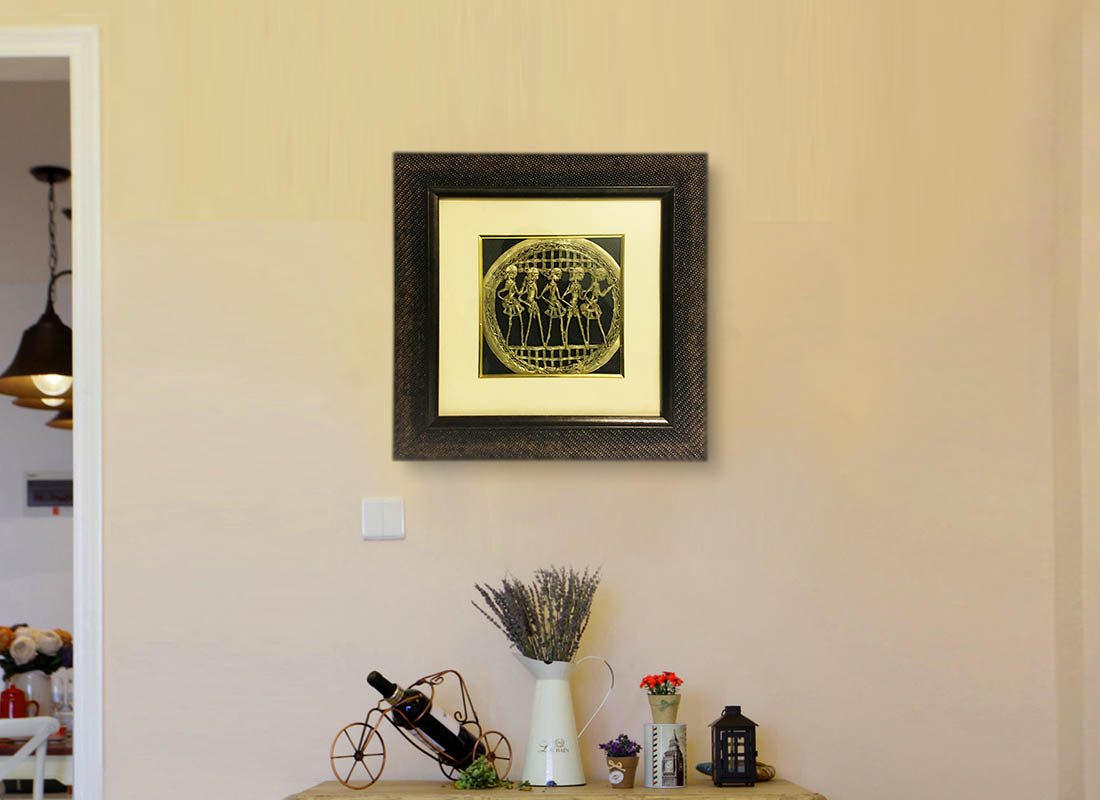 Buy Handcrafted Dhokra Art Wall Frame at Lowest Rates On ...