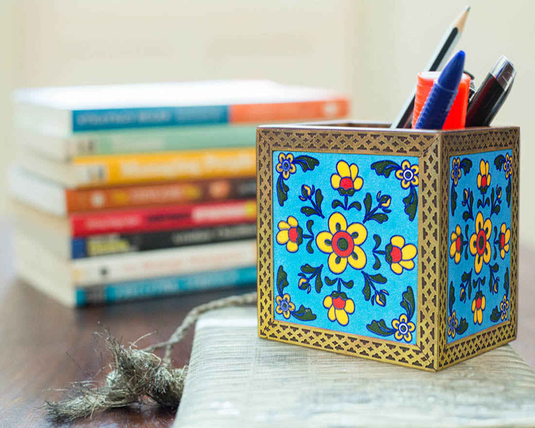 Ethnic Design Pen Holder