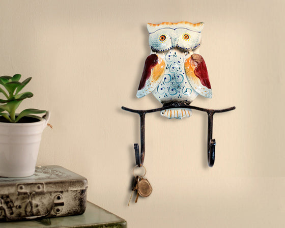 OWL WALL HOOK HANGER