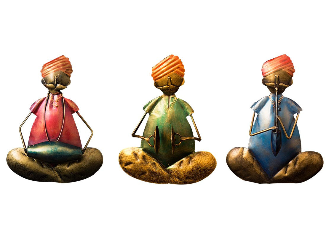 buy indian handicrafts tribal musician wall hanging home décor
