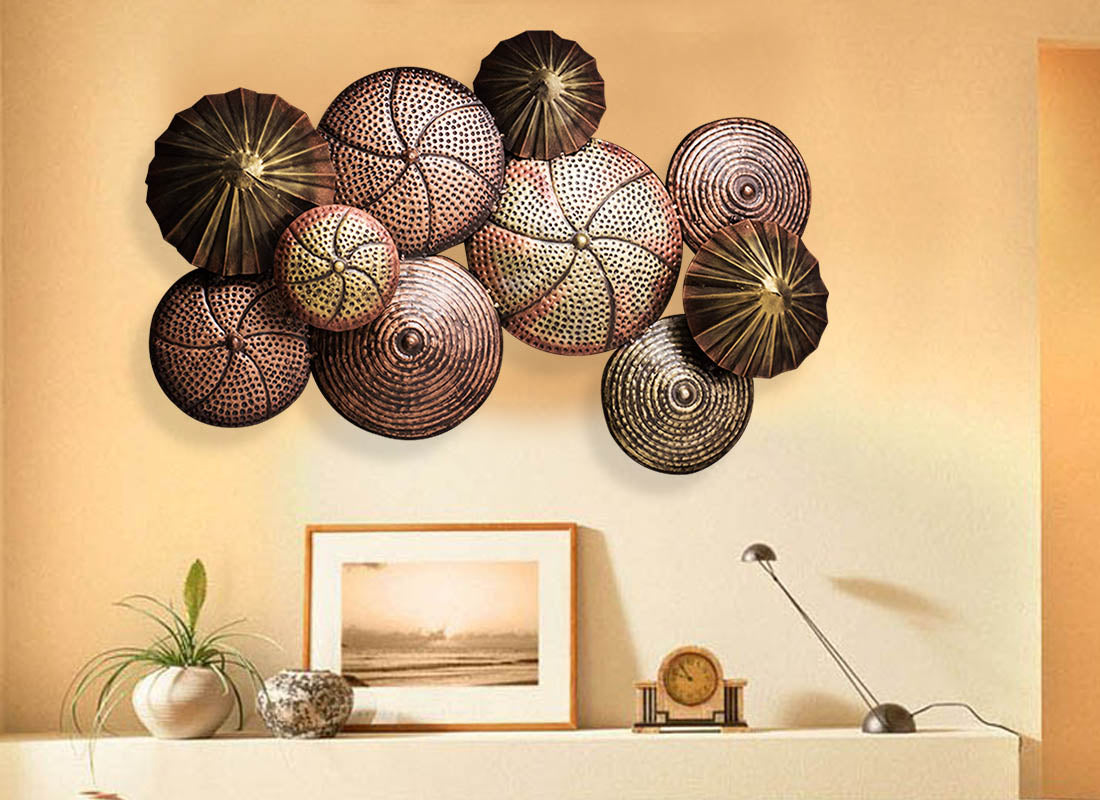 Copper Wall Decor Buy Antique Rustic Copper Wall Decor Piece At Lowest Rates On