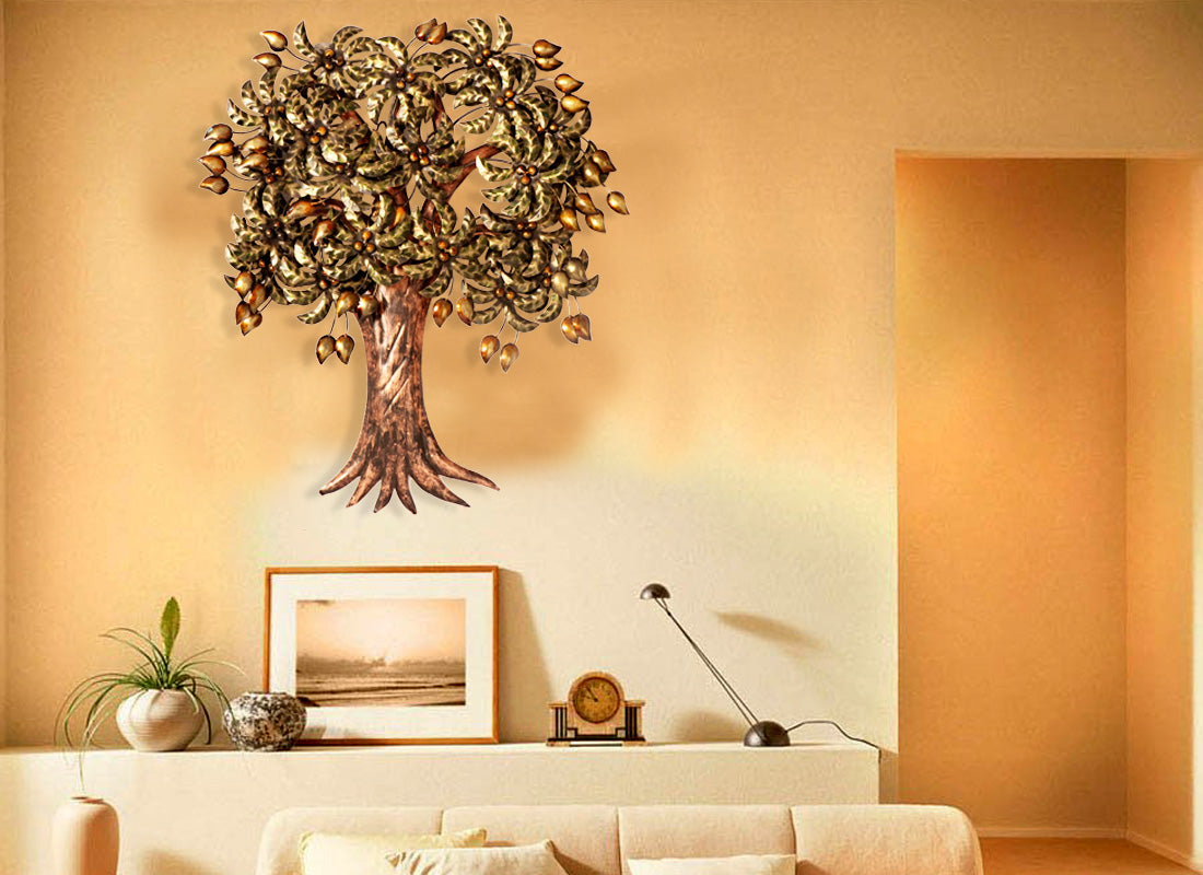 Buy Rustic Wall Hanging Tree Showpiece at Lowest Rates On ...